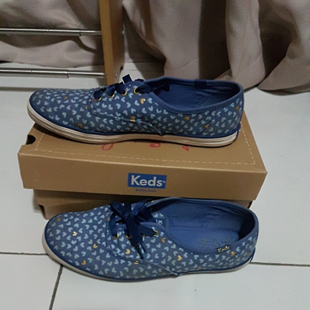 Preloved keds shoes Taylor Swift heart size 39,5