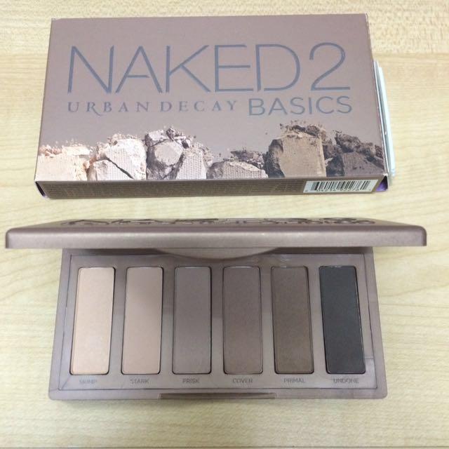 Preloved UD Naked2 Basics Palette