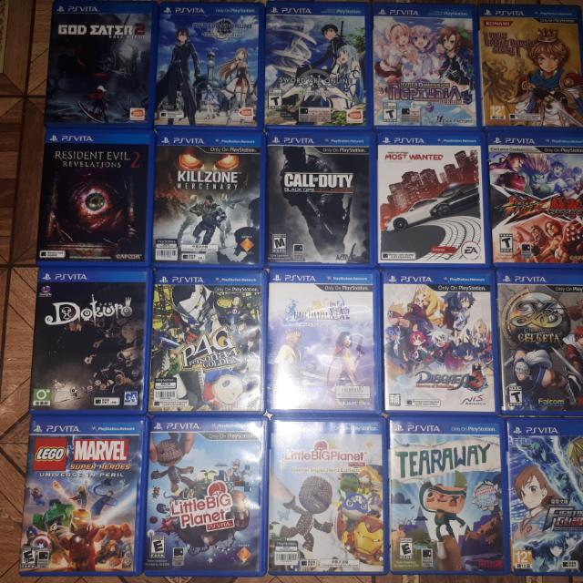 Ps vita games mmc and brandnew accesories video gaming for Vita craft factory outlet