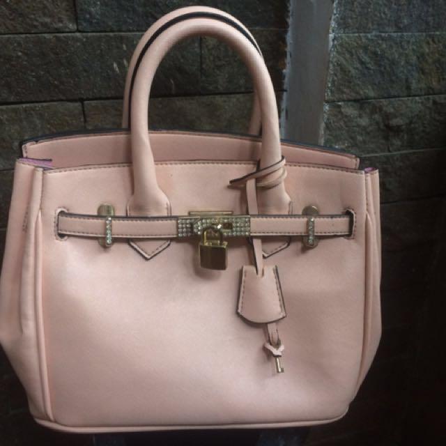 Reprice!!! Tas Baby Pink Look Like Hermes