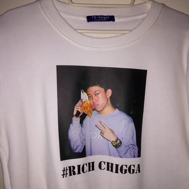 Rich chigga翻印大學T
