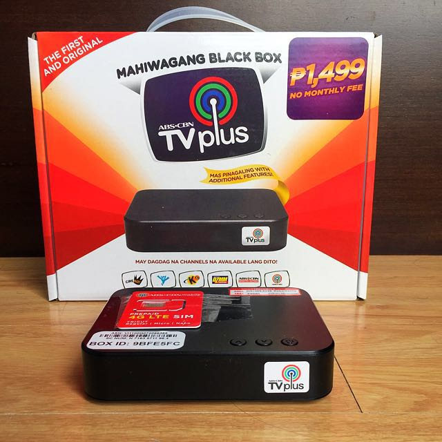 Rush Sale Abs Cbn Tv Plus Electronics Tvs Entertainment