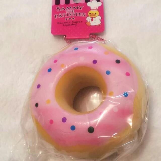 Sammy the Patissier Donut Squishy