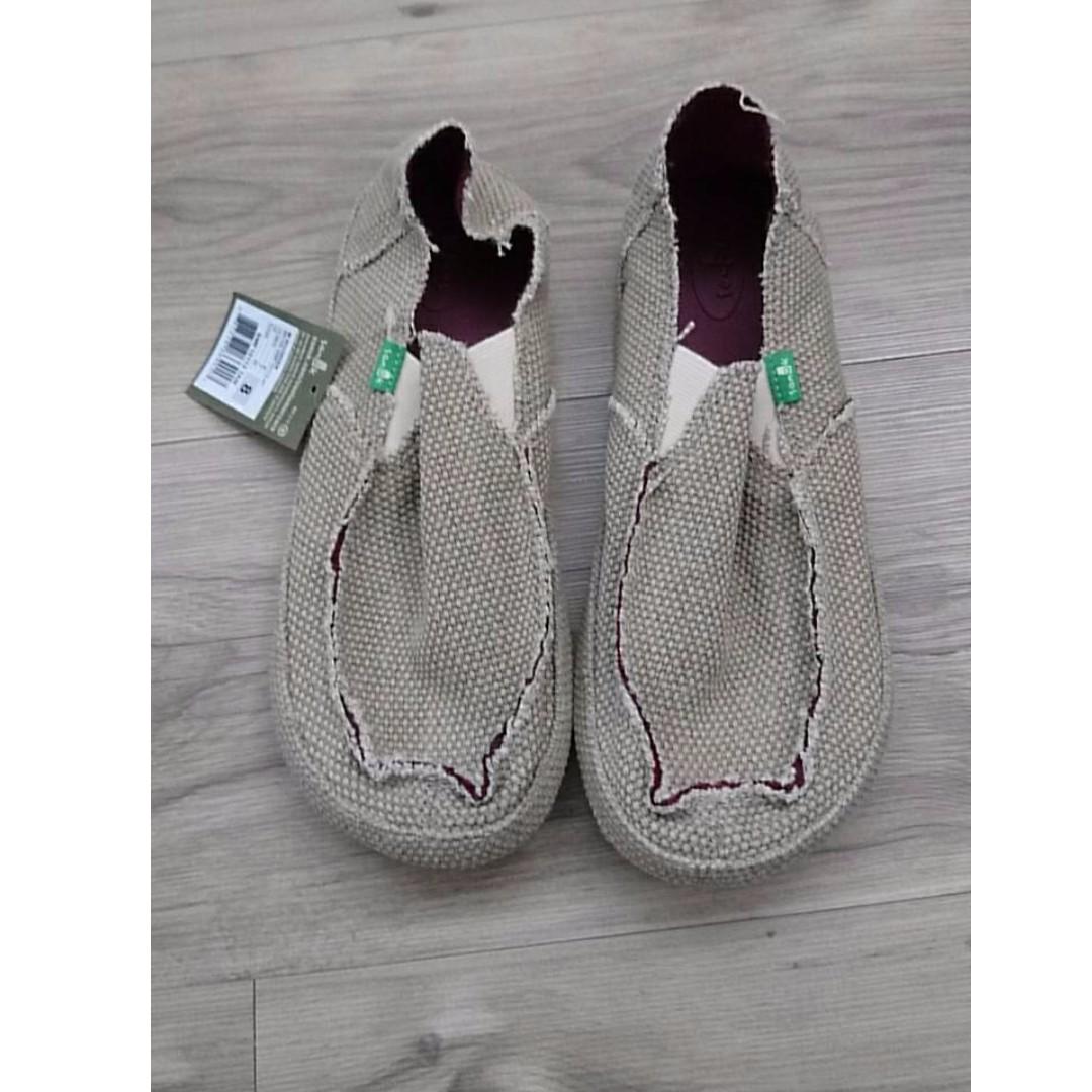 SANUK Rounder Slip On 男鞋 咖啡 US10