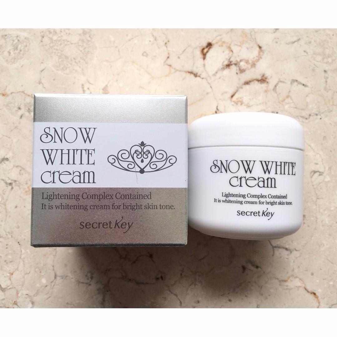 Secret Key Snow White Cream 50 Gram Kesehatan Kecantikan Parfum Photo