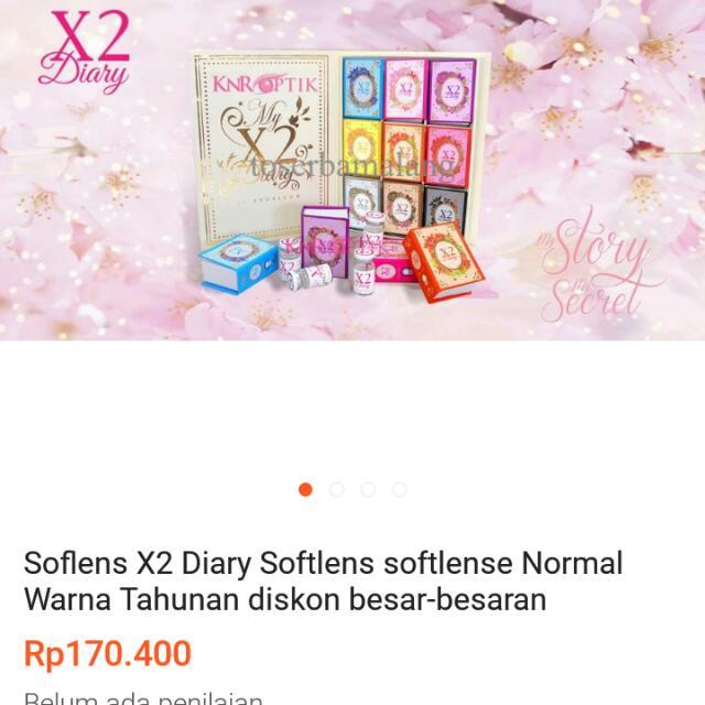 Soflens X2 diary