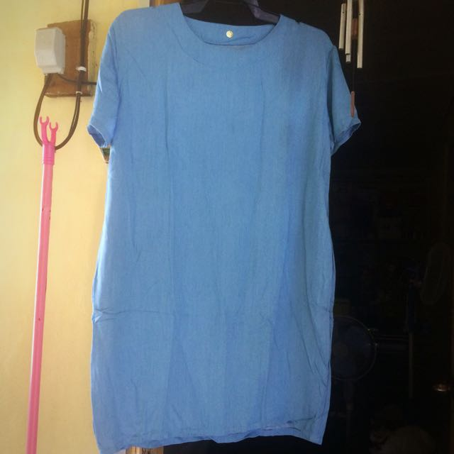 Soft denim dress (unbranded)