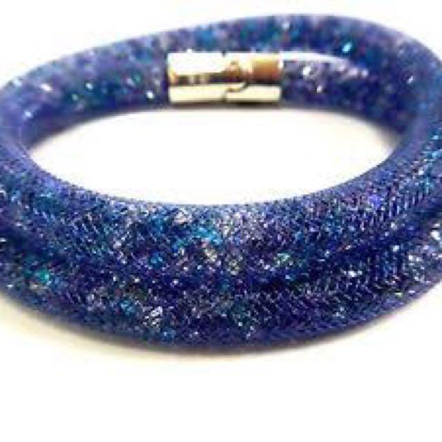 Swarovski Stardust Crystal Double Wrap Bracelet