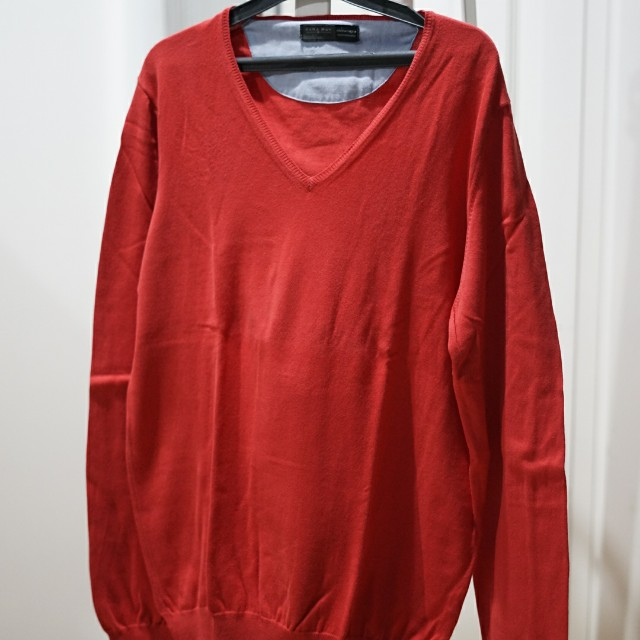 Sweater Zara Orange Original