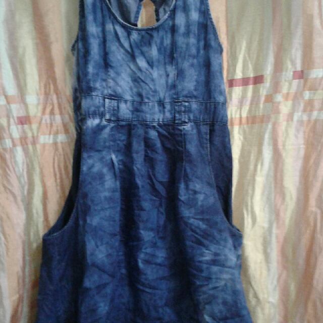 Switch Denim Dress