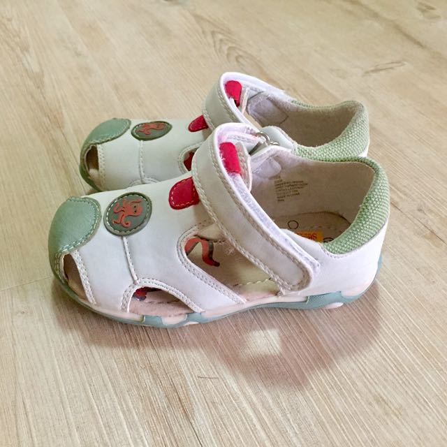 Tadpoles Leather Toddler Sandals Size EUR 25 New