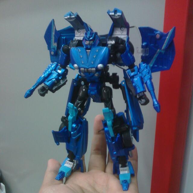 Takara Tomy Transformers Alternity 1/32 Scale Mitsuoka Orochi /  Thundercracker (Sonic Blue)
