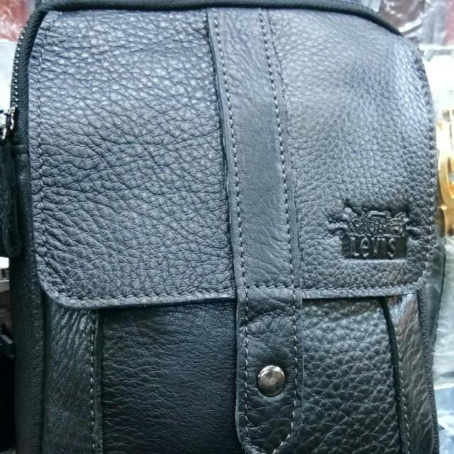 Tas levis kulit asli tas selempang pria wanita 38da376a19