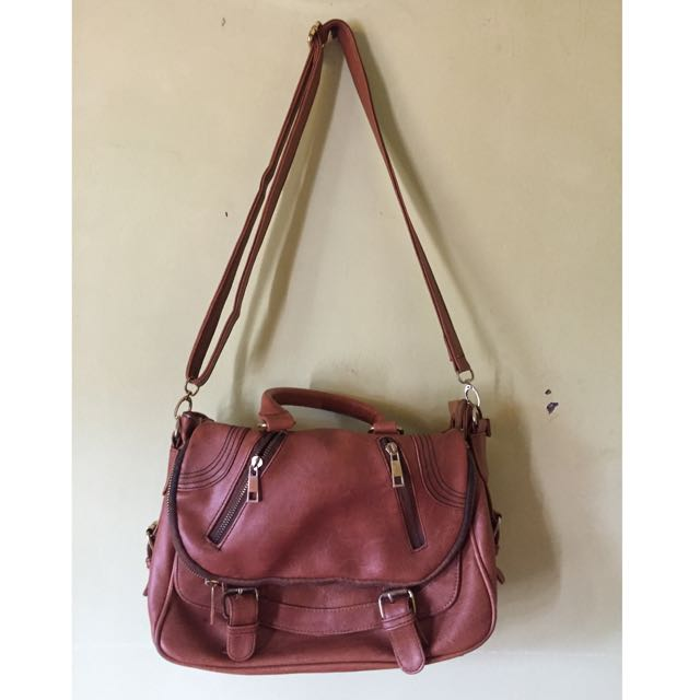 Tas selempang brown
