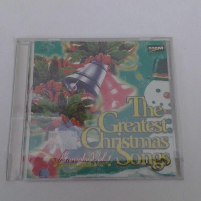 Karaoke Christmas Songs.The Greatest Christmas Song Karaoke Vcd Music Media Cds