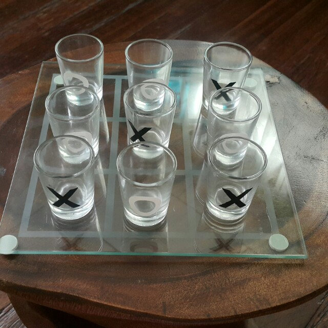 Tic Tac Toe Shot Glass