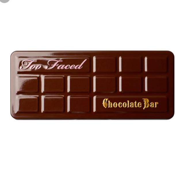 TOOFACED chocolate bar palett