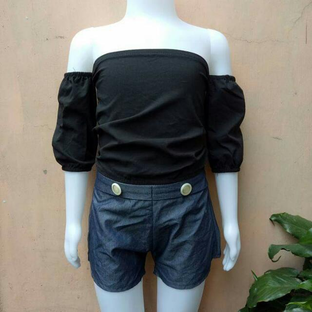 top and short terno for kids