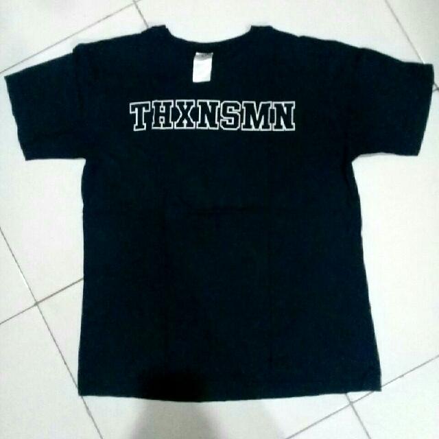 T-Shirt Kaos THANKSINSOMNIA Navy Unisex