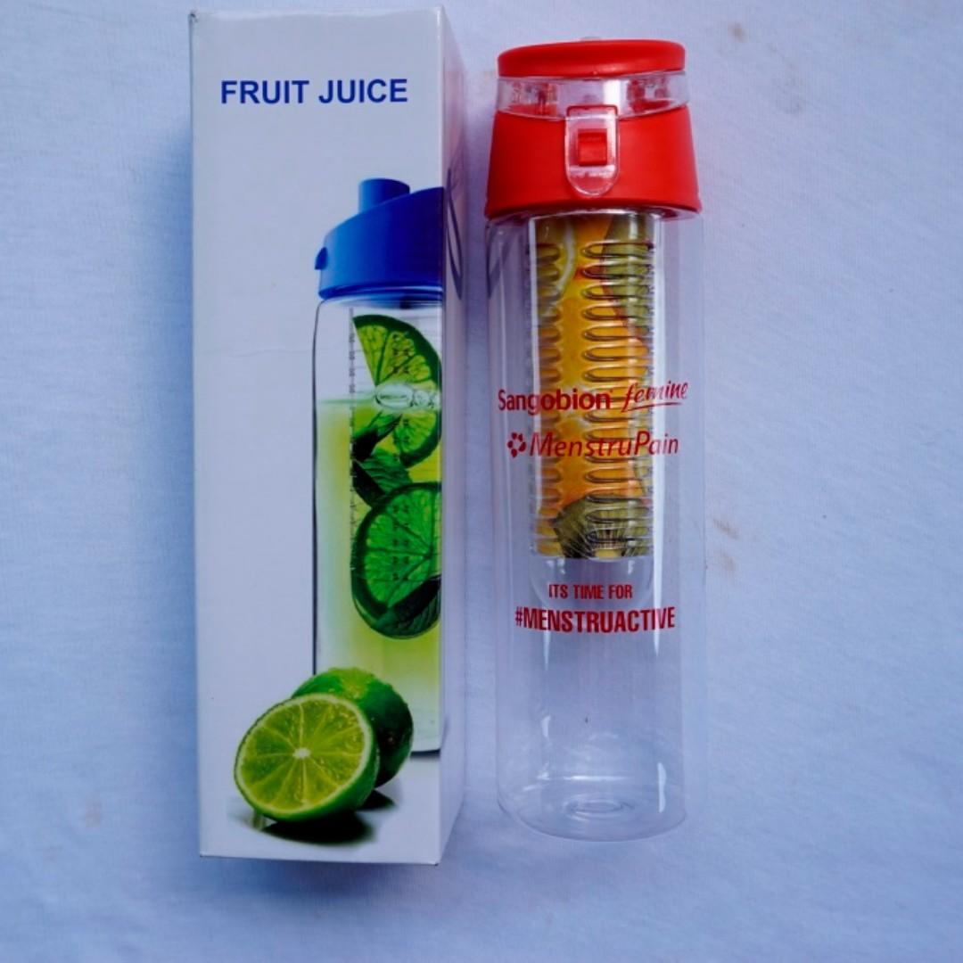 Tumbler / Botol Minum Infus water ukuran Hampir 1 Liter