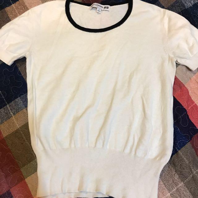 #一百元上衣(有活動)Uniqlo 棉質短袖上衣