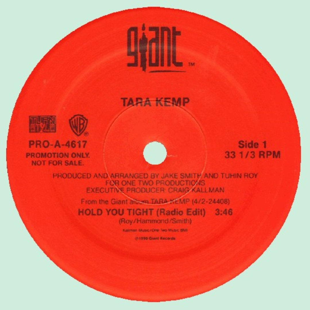 Other Media: US Pressed Promo Tara Kemp ‎– Hold You Tight Label: Giant