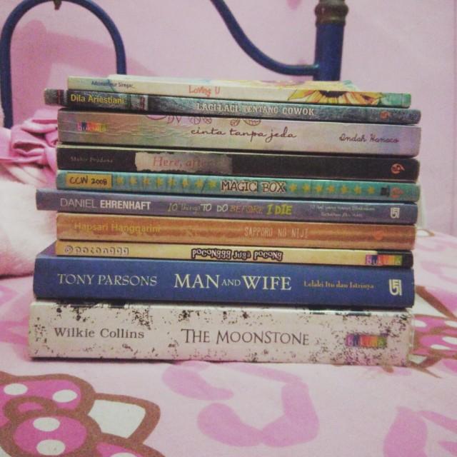Various Novel, Take them all!