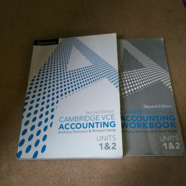 VCE Accounting