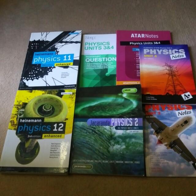 VCE Physics Units 1,2,3,4 Physics