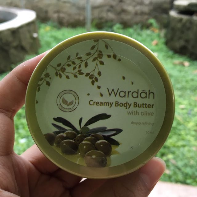 Wardah Creamy Body Butter with Olive 50ml