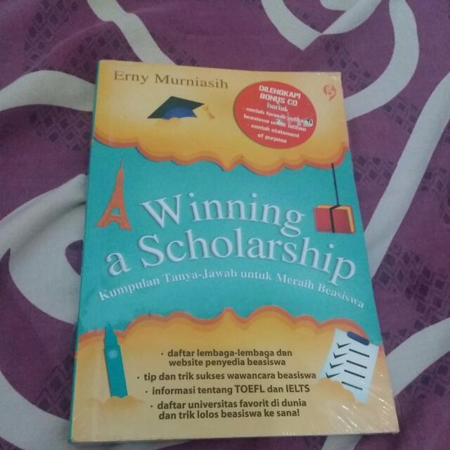 Winning Scholarship Book + Bonus CD