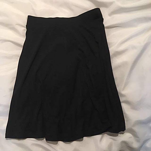 WOMEN Uniqlo Flare Skirt
