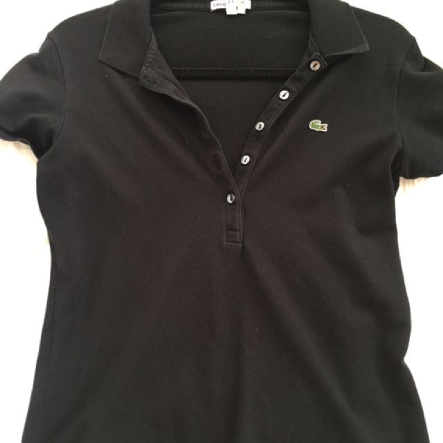 Women's Lacoste small polo