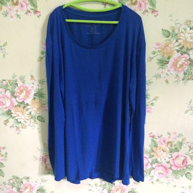 Zara Blue Tshirt