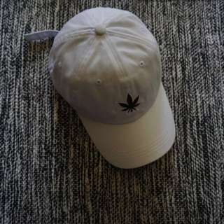 Stoned and Co White Dad Cap