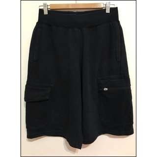 8成新 Nike 黑色口袋棉褲 尺寸s