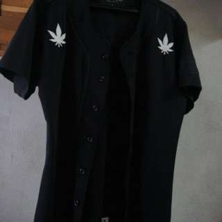 Stoned and Co UIP 96 Baseball Jacket Jersey Black