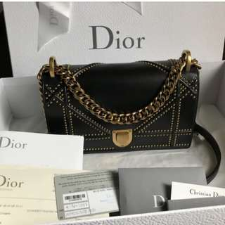 Authentic Dior Small Flap Bag