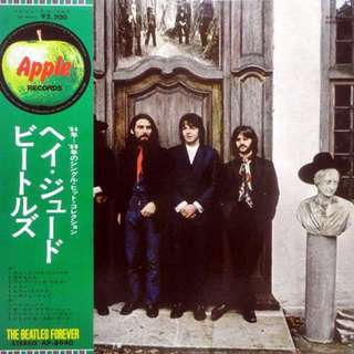Japan Pressed W/O Obi and Insert The Beatles ‎– Hey Jude  Label: Apple Records ‎– AP-8940  Series: The Beatles Forever –  Format: Vinyl, LP, Compilation  Country: Japan  Released: 1970  Genre: Rock  Style: Beat, Rock & Roll, Pop Rock