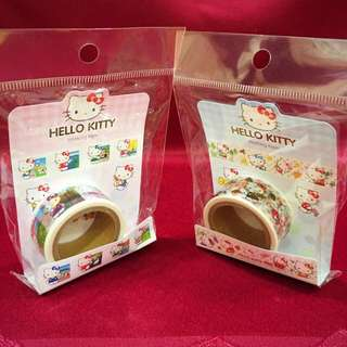 🚚 Hello Kitty紙膠帶