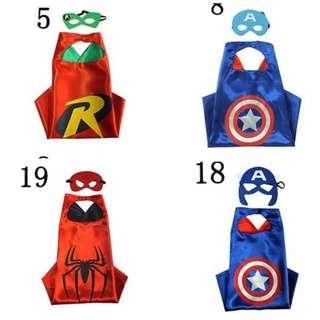 Kids Superhero Cape (2 design left)