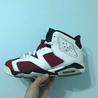 Air Jordan 6 胭脂紅5Y