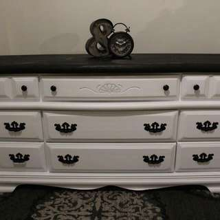 GORGEOUS TWO TONED DRESSER
