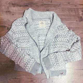 Hollister Knit Biker Jacket