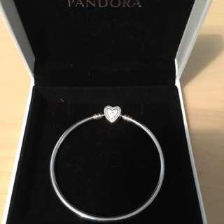 Pandora Heart Bangle