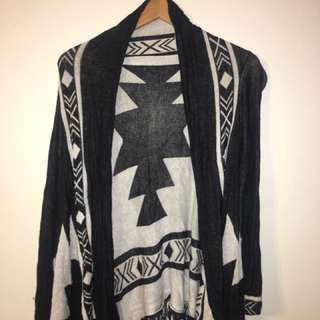 Patterned Cardigan