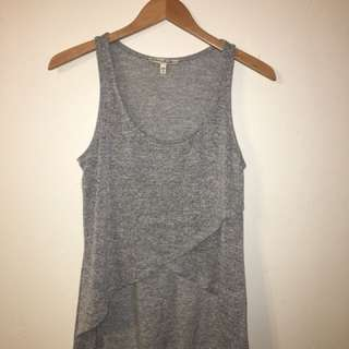 Express Grey high-low tank