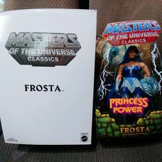 MASTERS OF THE UNIVERSE CLASSICS : FROSTA (not Marvel Legends, DC, Heman)