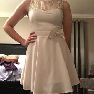 F21 - Off White Dress