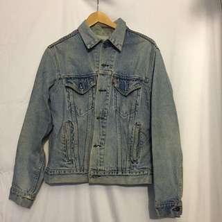 Levis vintage oversized Jean jacket